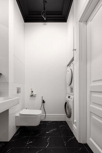 富裕型60平米一居室现代简约风格卫生间装修案例