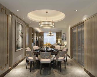 20万以上140平米三室一厅混搭风格餐厅欣赏图