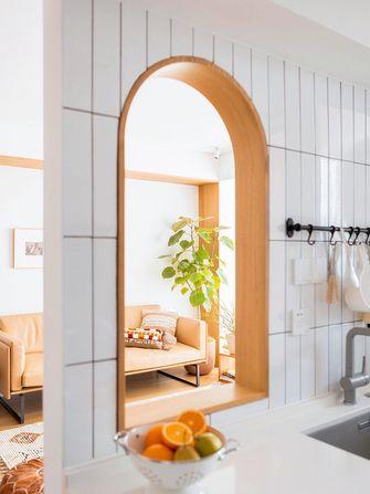 富裕型80平米三室两厅日式风格厨房图片大全