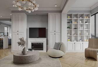 豪华型90平米法式风格客厅图片大全