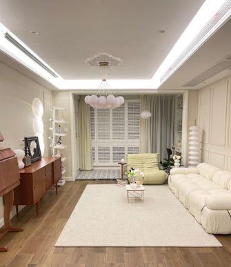 5-10万80平米北欧风格客厅装修案例