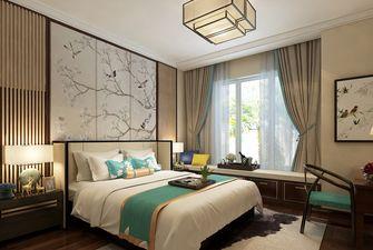 110平米三室一厅中式风格卧室欣赏图