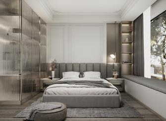 豪华型120平米三室一厅英伦风格卧室图片大全