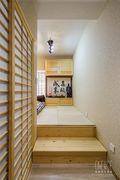 经济型50平米日式风格楼梯间效果图