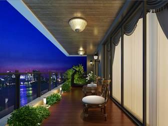20万以上140平米四室两厅美式风格阳台图