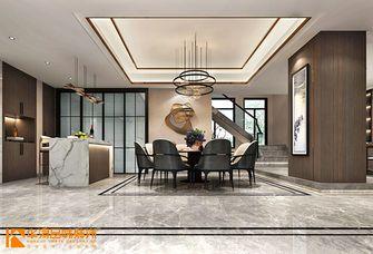 豪华型140平米别墅混搭风格餐厅设计图