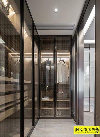 10-15万140平米三室两厅现代简约风格衣帽间装修图片大全