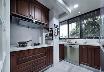 经济型80平米三室两厅地中海风格厨房欣赏图