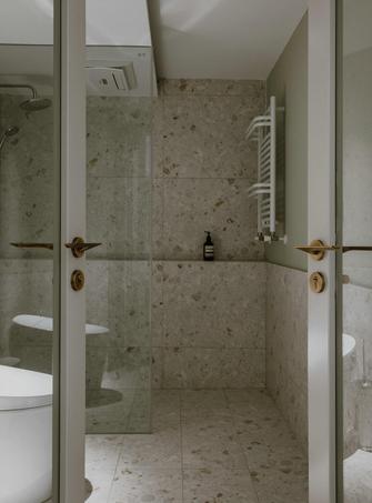 富裕型100平米一室一厅现代简约风格卫生间欣赏图