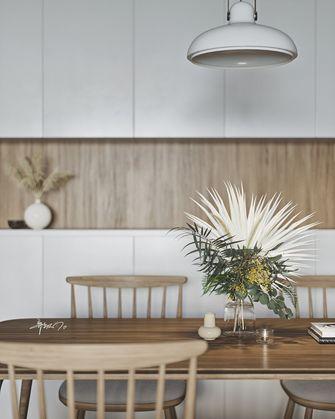富裕型110平米三室一厅北欧风格餐厅设计图