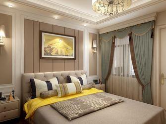 120平米三室两厅欧式风格卧室装修效果图