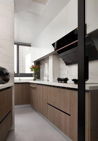 10-15万130平米三室两厅现代简约风格厨房装修效果图