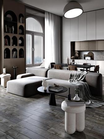 一居室现代简约风格客厅装修效果图