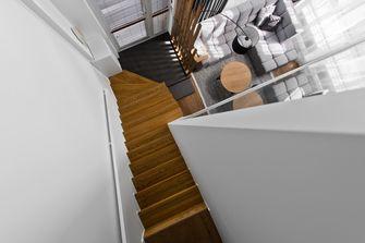 富裕型60平米复式工业风风格楼梯间装修图片大全
