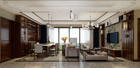 15-20万110平米三室一厅中式风格客厅装修案例