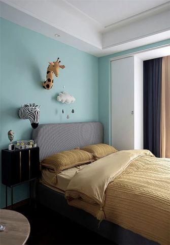 经济型100平米三室两厅轻奢风格青少年房装修案例