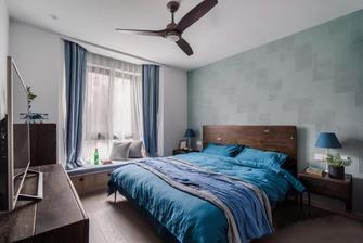 110平米三室两厅混搭风格卧室图片