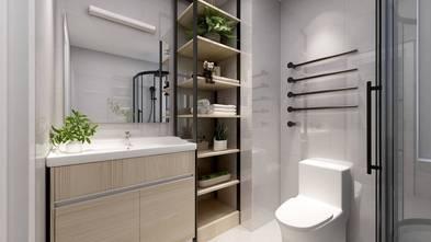 100平米三室两厅日式风格卫生间装修效果图