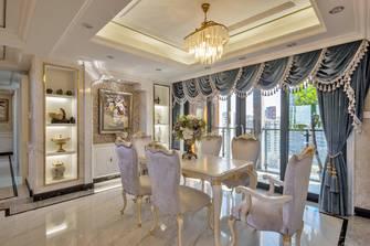 140平米复式新古典风格餐厅设计图