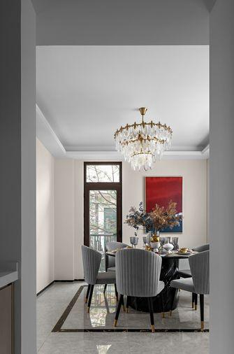 富裕型140平米复式法式风格餐厅效果图