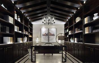 豪华型140平米中式风格书房装修图片大全