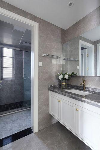 5-10万110平米三室三厅美式风格卫生间图片