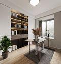豪华型120平米别墅轻奢风格书房欣赏图