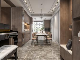 豪华型140平米三室两厅法式风格餐厅图片大全