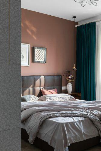 豪华型100平米三室两厅混搭风格卧室图片大全