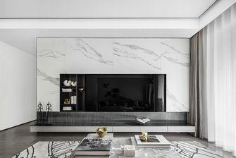 富裕型120平米三室两厅现代简约风格客厅图