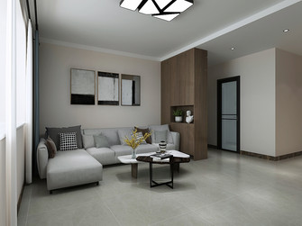 10-15万100平米三室两厅东南亚风格客厅装修案例