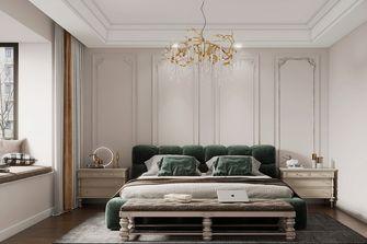 豪华型140平米四室一厅法式风格卧室图片