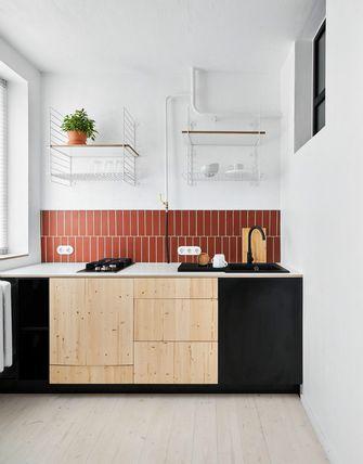 经济型40平米小户型现代简约风格厨房设计图