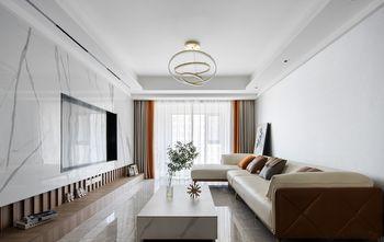 90平米三中式风格客厅装修案例