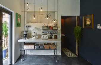 100平米三工业风风格厨房装修效果图