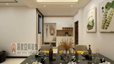3-5万80平米三室两厅现代简约风格餐厅装修案例