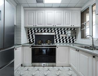110平米三室两厅美式风格厨房装修效果图