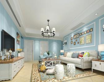 经济型80平米田园风格客厅装修图片大全