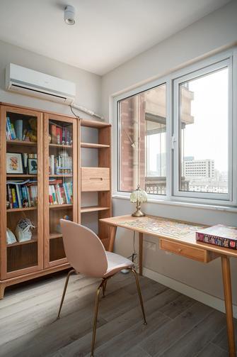 5-10万80平米北欧风格书房图