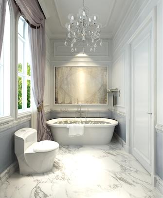 豪华型140平米别墅新古典风格卫生间图