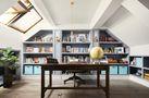 豪华型140平米复式法式风格书房设计图