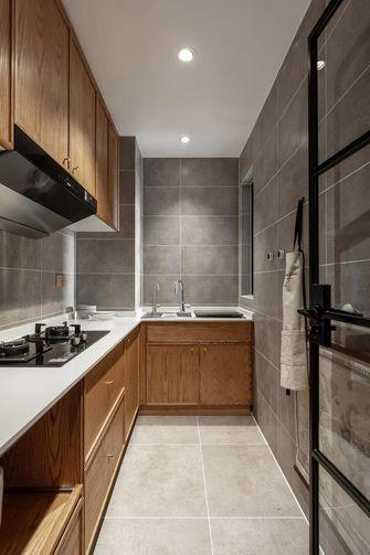 经济型50平米小户型现代简约风格厨房图