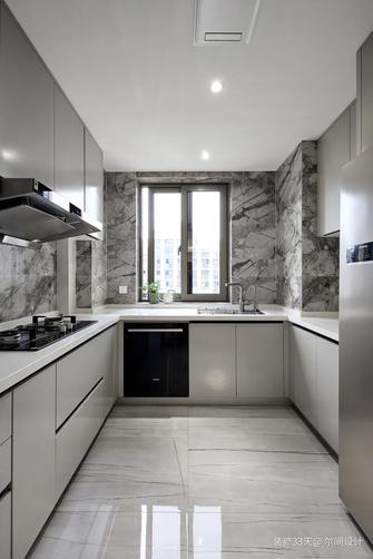 富裕型140平米四现代简约风格厨房装修案例