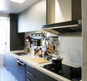 120平米田园风格厨房图片大全