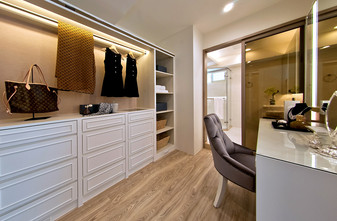 20万以上140平米四室一厅欧式风格书房装修图片大全