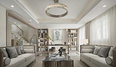 豪华型140平米别墅中式风格书房装修案例