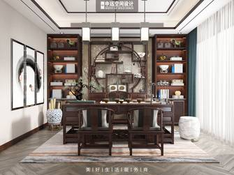 豪华型140平米别墅欧式风格书房效果图