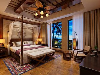 15-20万140平米四室两厅东南亚风格卧室图片