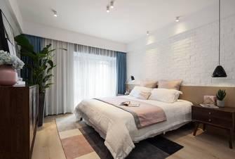 120平米三室三厅北欧风格卧室图
