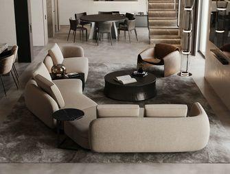 豪华型140平米四室三厅现代简约风格客厅装修案例